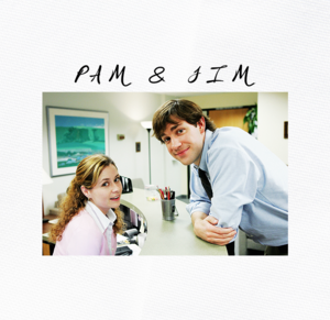 The Office Pam & Jim